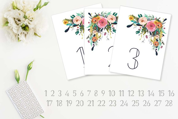 hand-painted-rose-table-numbers-fe-f